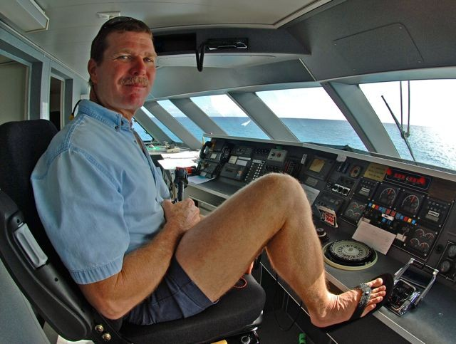 Captain Ron McCaslin