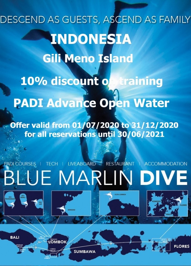 Remise Advance Open Water Centre Gili Meno