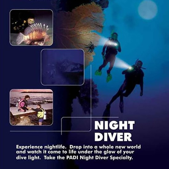 Padi Night Diver Speciality Course