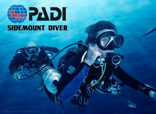 Padi Sidemount Diver Speciality course