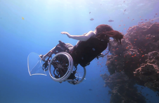 SSI Classified/disabled Diving