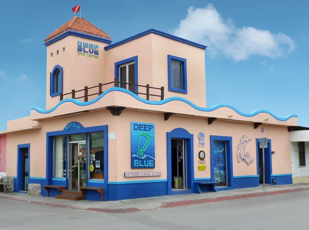 Deep blue cozumel dive center cozumel island mexico - Dive shop mexico ...