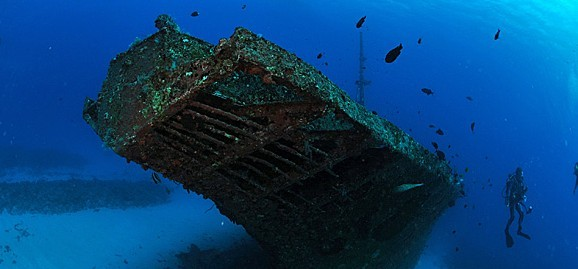 The Stella Maru Shipwreck